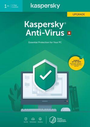 Kaspersky Anti-Virus (1 PC) Upgrade