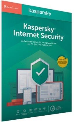 Kaspersky Internet Security 5 Geräte (Code in a Box) (FFP)