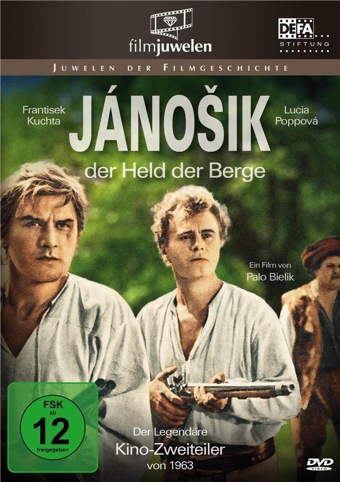 Janosik, Held der Berge - Der Original Kino-Zweiteiler (1963) (Filmjuwelen, 2 DVD)