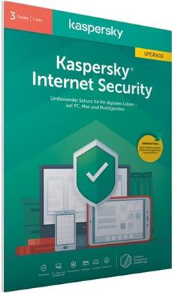 Kaspersky Internet Security 3 Geräte Upgrade (Code in a Box) (FFP)