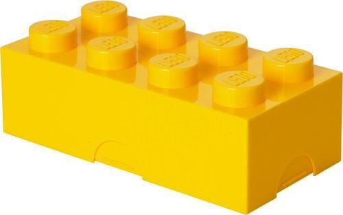 Room Copenhagen - Lego Classic Box With 8 Knobs In Bright Yellow