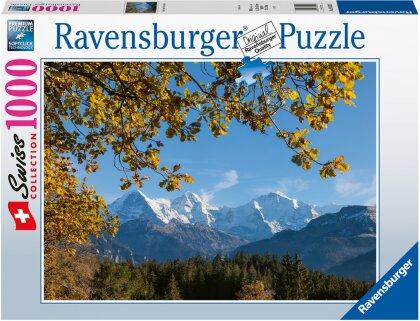 Puzzle Eiger, Mönch und Jungfrau - 1000 Teile
