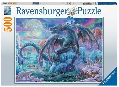 Eisdrache - 500 Teile Puzzle