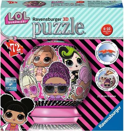 L.O.L Surprise! - Puzzleball 72 Teile