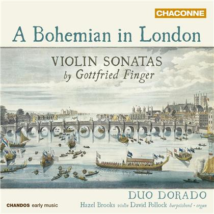 Duo Dorado, Gottfried Finger (1655-1730), Hazel Brooks & David Pollock - A Bohemian In London - Violin Sonatas
