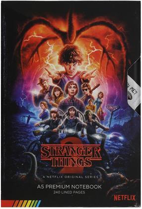 Stranger Things: VHS Season Two - A5 Premium Notizbuch
