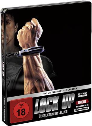 Lock Up - Überleben ist alles (1989) (Edizione Limitata, Steelbook, 4K Ultra HD + Blu-ray)