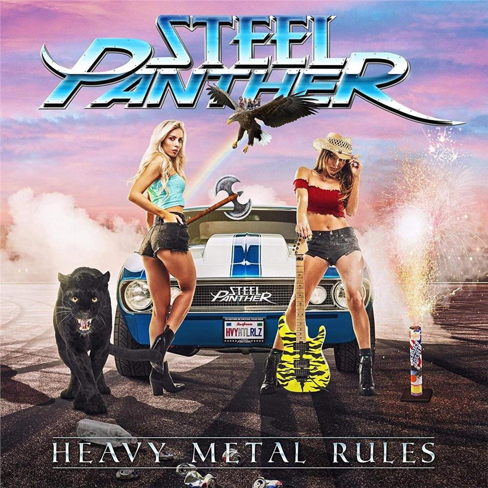 Steel Panther - Heavy Metal Rules (LP)
