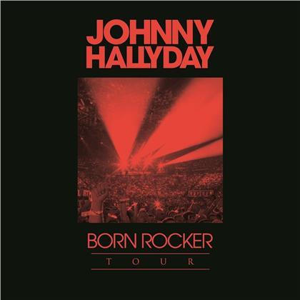 Johnny Hallyday - Coffret (Born Rocker Tour/Concert au Palais de (4 CDs)