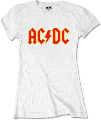 AC/DC Ladies Tee - Logo (Retail Pack)