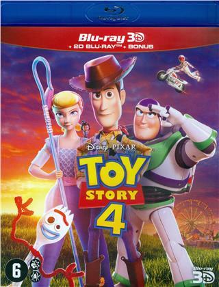 Toy Story 4 (2019) (Blu-ray 3D + Blu-ray)