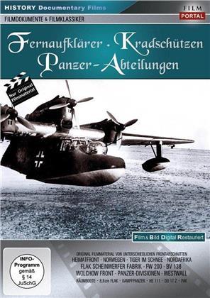 Fernaufklärer, Kradschützen - Panzer-Abteilungen