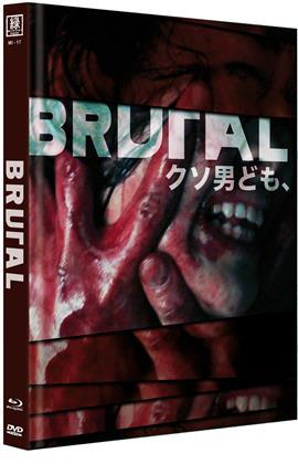Brutal (Cover B, Limited Edition, Mediabook, Uncut, Blu-ray + DVD)