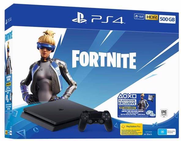 Sony Playstation 4 500GB SLIM black - Fortnite Neo Versa Bundle
