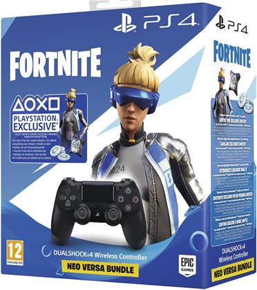 PS4 Controller original black Dualshock 4 - Fortnite Neo Versa Bundle
