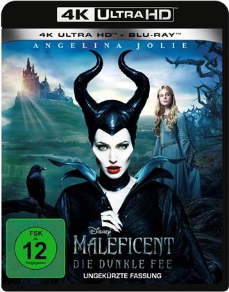 Maleficent - Die dunkle Fee (2014) (Uncut, 4K Ultra HD + Blu-ray)