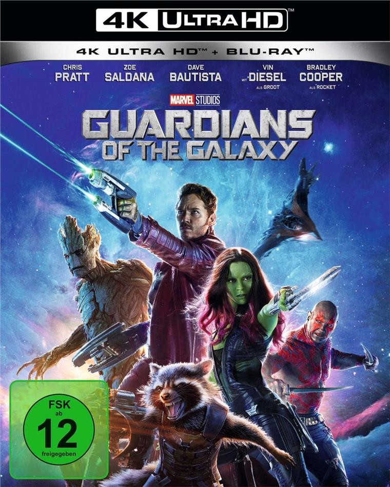 Guardians of the Galaxy (2014) (4K Ultra HD + Blu-ray)