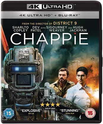 Chappie (2015) (4K Ultra HD + Blu-ray)