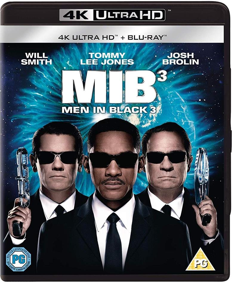 Men in Black 3 (2012) (4K Ultra HD + Blu-ray)