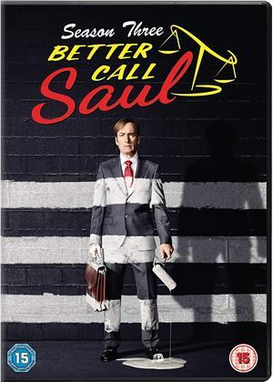 Better Call Saul - Season 3 (3 DVDs)