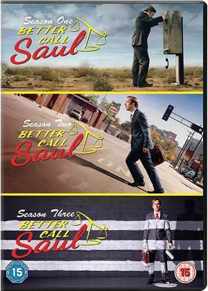 Better Call Saul - Seasons 1-3 (9 DVDs)