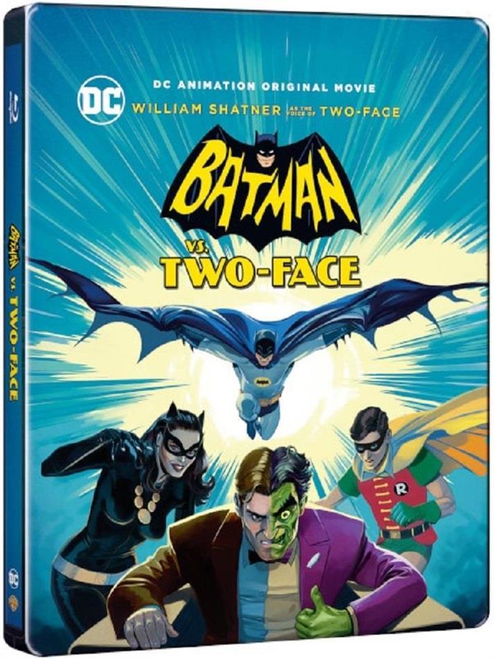 Batman Vs Two-Face (2017) (Steelbook)