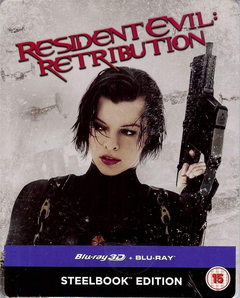 Resident Evil 5 - Retribution (2012) (Steelbook, Blu-ray 3D + Blu-ray)