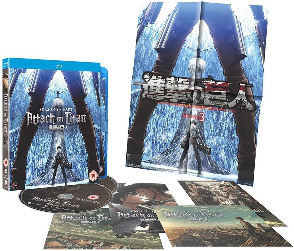 Attack On Titan - Season 3 Part 1 (Collector's Edition, 2 Blu-ray)