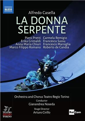 Orchestra E Coro Teatro Regio Torino - Alfredo Casella / La Donna Serpente