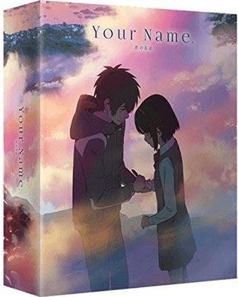 Your Name (2016) (Deluxe Edition, Limited Edition, Blu-ray + DVD + CD)