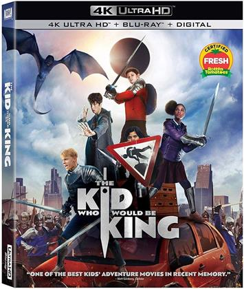 The Kid Who Would Be King (2019) (4K Ultra HD + Blu-ray)