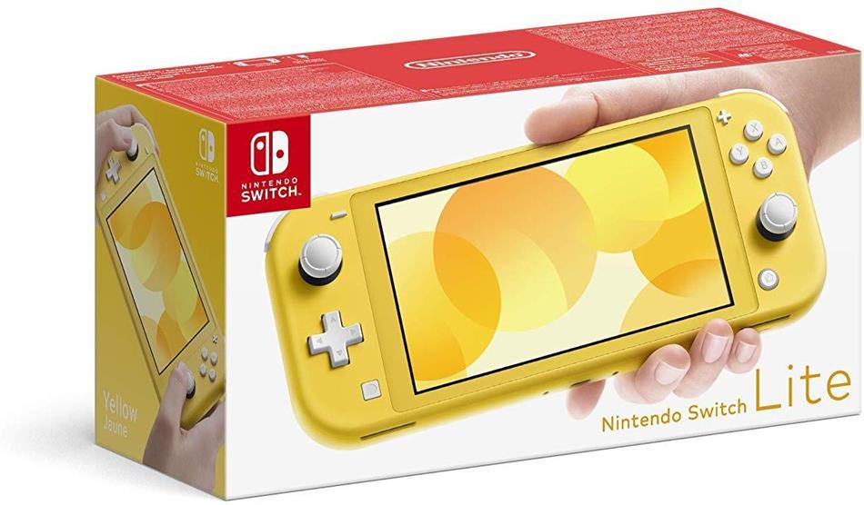 Nintendo Switch Konsole Lite Yellow