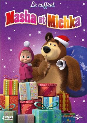 Masha & Michka - Coffret 2019 (4 DVDs)