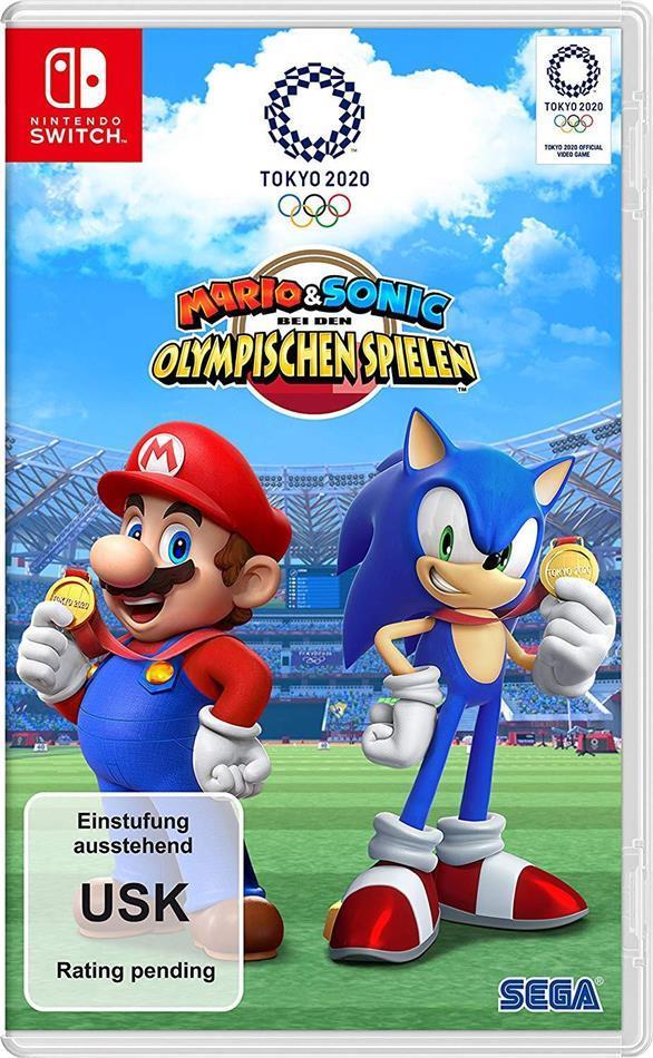 Mario & Sonic bei den Olympischen Spielen Tokyo 2020 (German Edition)