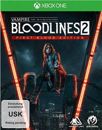 Vampire Masquerade Bloodlines 2 XB-ONE First Blood Edition (German Edition)