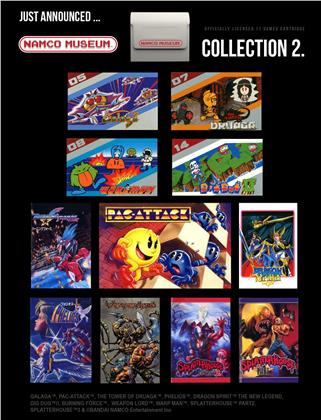 Blaze Evercade Namco Cartridge 2 #