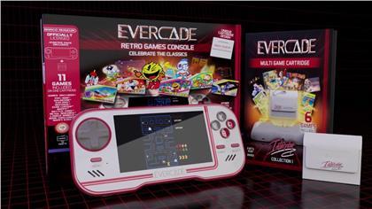 Blaze Evercade Premium Pack + Namco Cart 1 - Atari Cart 1 & Interplay Cart 1. (PEGI / USK)