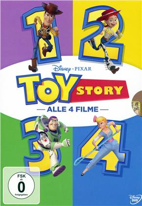 Toy Story 1-4 (4 DVDs)