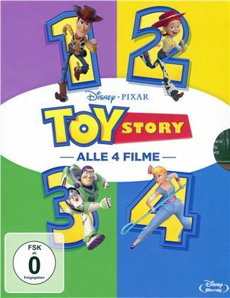 Toy Story 1-4 (4 Blu-rays)