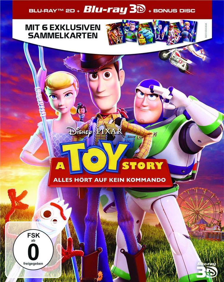 Toy Story 4 - A Toy Story (2019) (Blu-ray 3D + 2 Blu-rays)