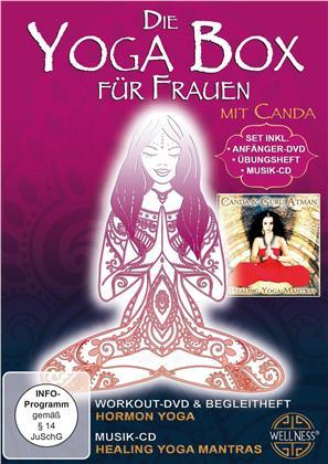 Die Yoga Box für Frauen - Mit Canda (DVD + CD)