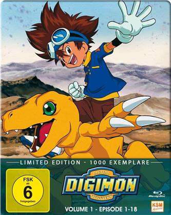 Digimon: Digital Monsters - Adventure - Staffel 1 - Vol. 1 (MetalPak, Limited Edition, 2 Blu-rays)