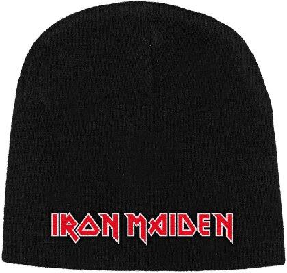 Iron Maiden Unisex Beanie Hat - Logo