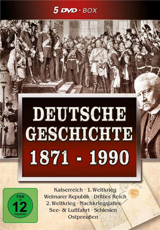 Deutsche Geschichte 1871-1990 (5 DVDs)
