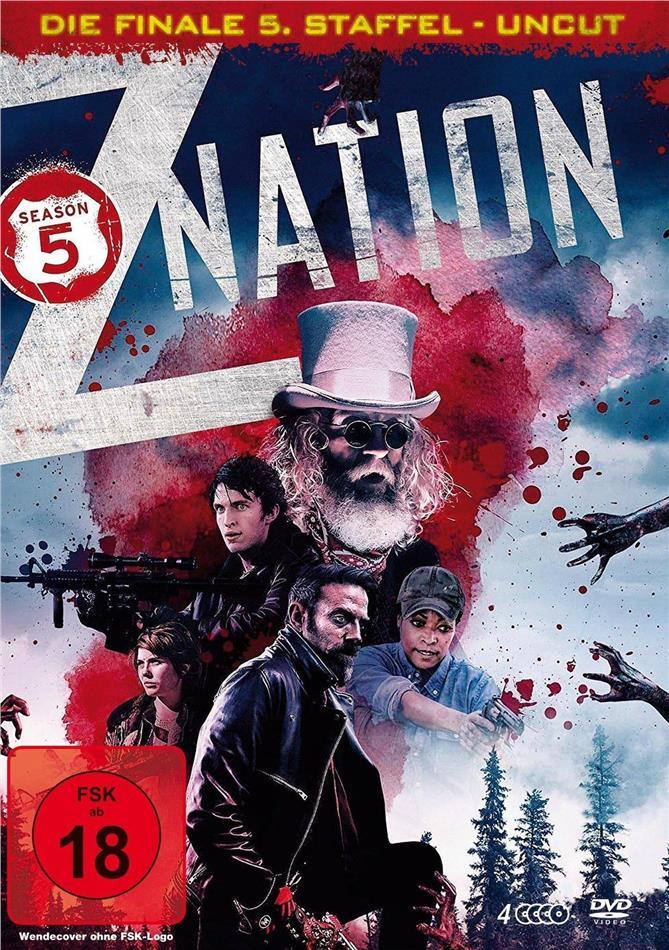 Z Nation - Staffel 5 - Die finale Staffel (Uncut, 4 DVDs)