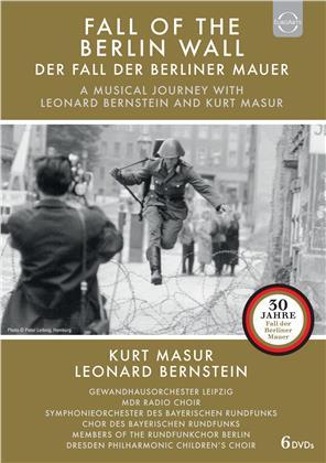 Der Fall der Berliner Mauer - Eine musikalische Reise mit Leonard Bernstein und Kurt Masur (6 DVDs)