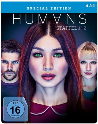 Humans - Staffel 1+2 (FuturePak, Limited Edition, 4 Blu-rays)