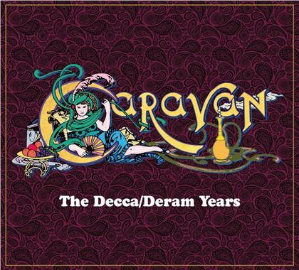 Caravan - The Decca/Deram Years - An Anthology 1970-1975 (9 CDs)