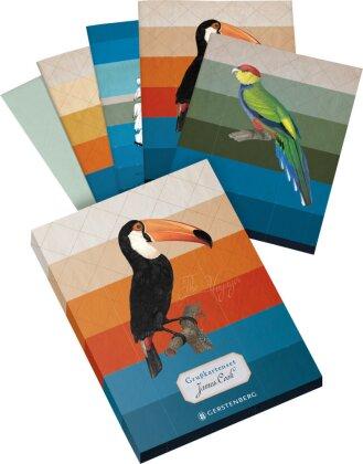 James Cook Grußkarten-Set