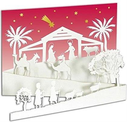 Auf dem Weg nach Betlehem Weihnachtskarte